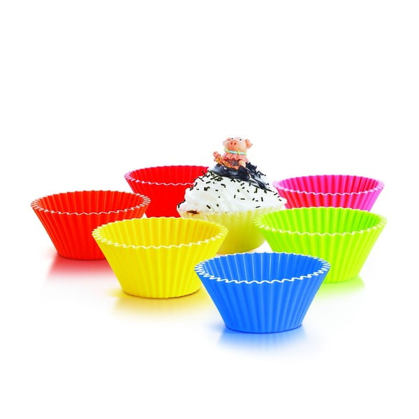 Formy na muffiny 10,5 cm, 6 ks