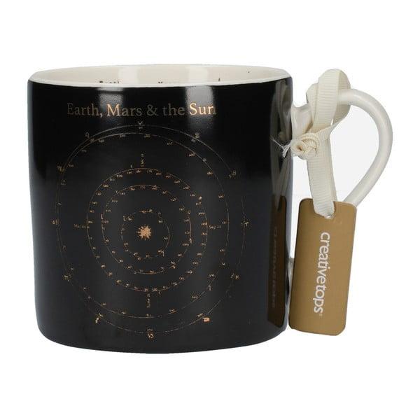 Porcelánový hrnek Creative Tops Black Astronomy, 450ml