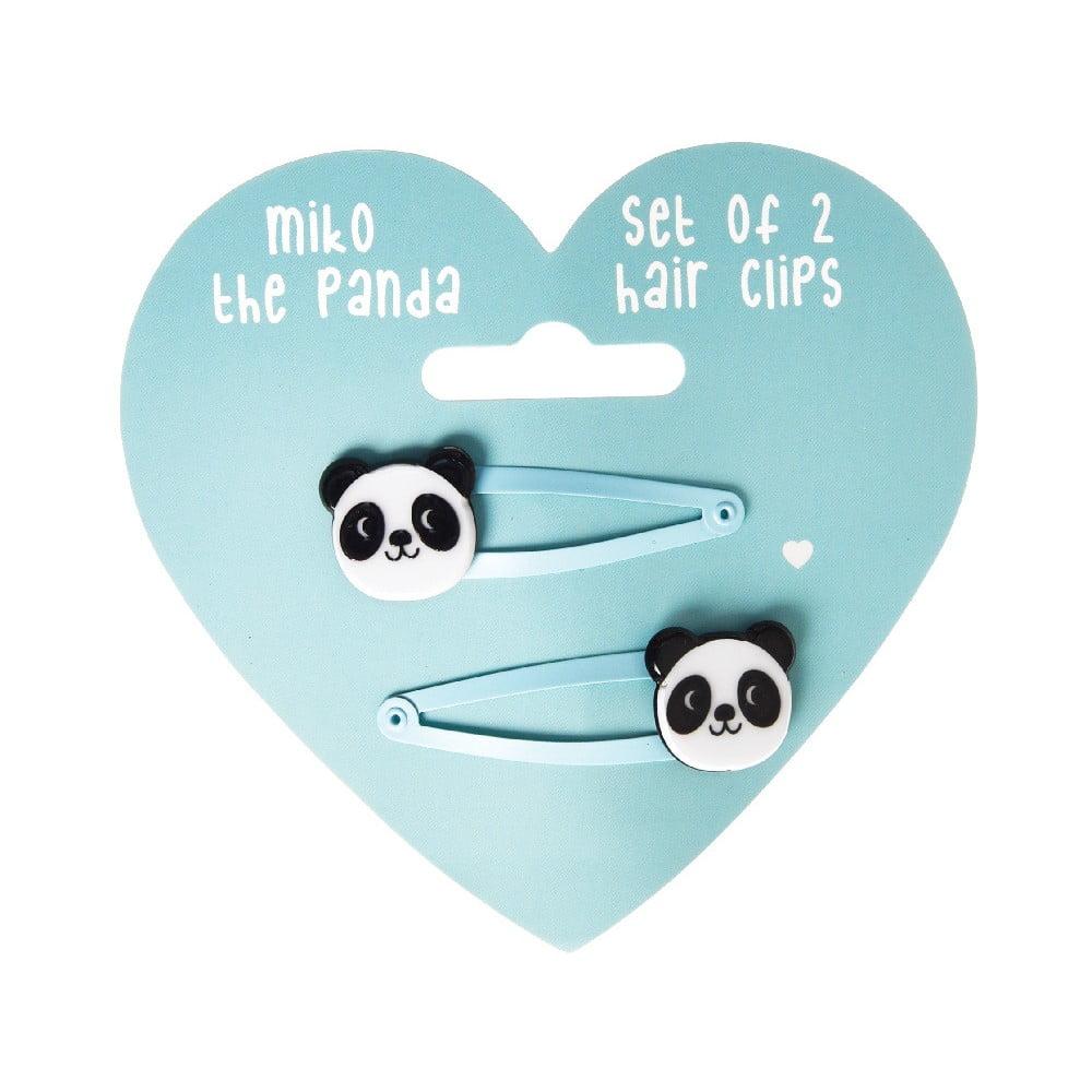 Sada 2 sponek do vlasů Rex London Miko The Panda  649c855c0b