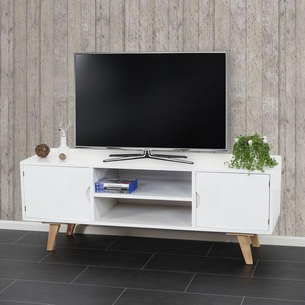 Televizní stolek Vaasa White