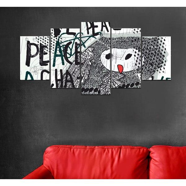 Vícedílný obraz Black&White no. 81, 100x50 cm