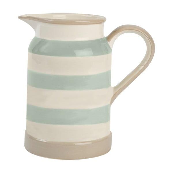 Džbánek T&G Woodware Mint Stripe, 825 ml