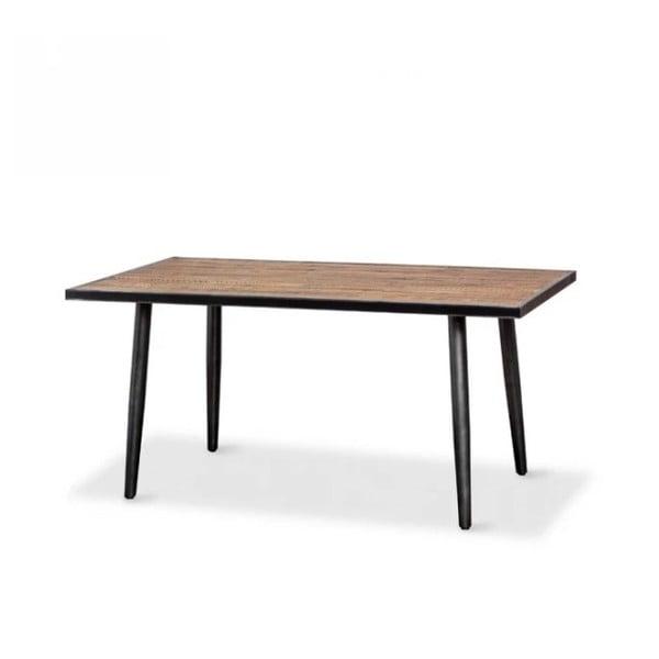 Jídelní stůl z masivního akáciového dřeva Massive Home Robbie, 200 x 90 cm
