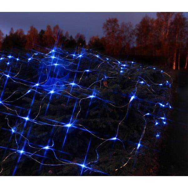 Svítící dekorace Light Network Blue/Black, 3 m