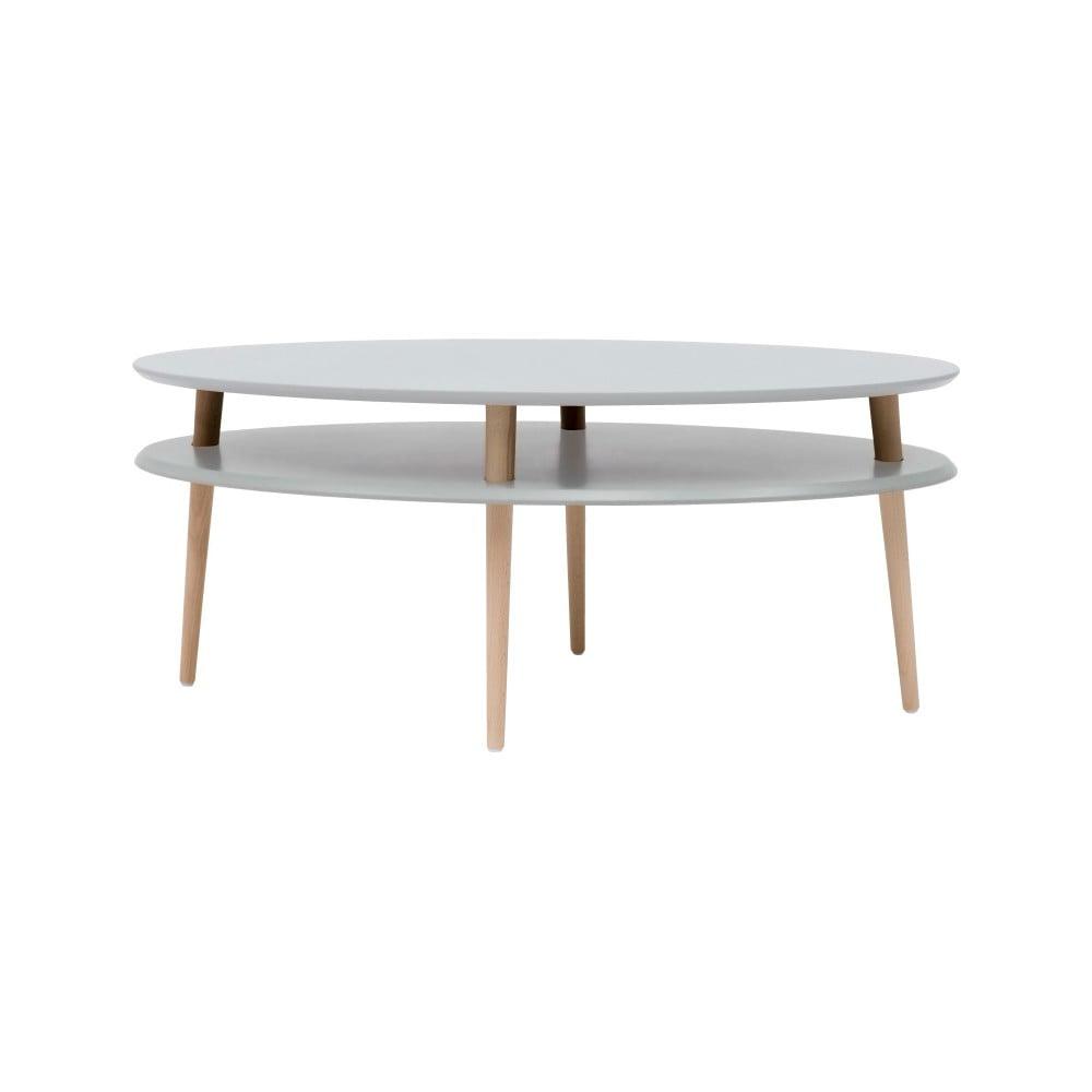 Světle šedý konferenční stolek Ragaba OVO