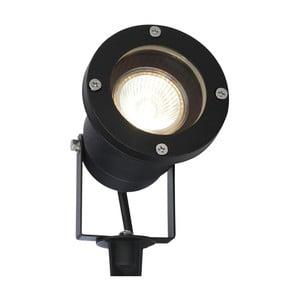 Černé venkovní svítidlo SULION Yuka, 29x9,2cm