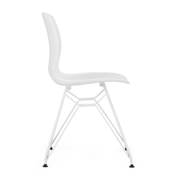 Sada 2 bílých židlí Garageeight Rietia