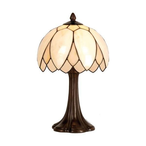 Tiffany stolní lampa Pearl Flower