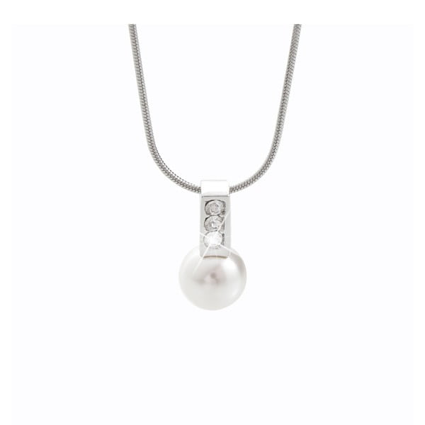 Náhrdelník s krystaly Swarovski® Yasmine Pearl