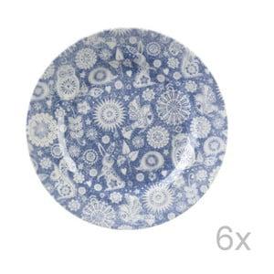 Sada 6 talířů Churchill Penzance All Over, 17 cm