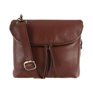 Dámská kožená taška Violet Whiskey Small Flap Cross-Body
