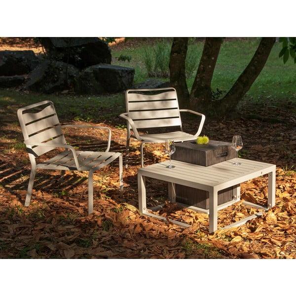 Zestaw 2 krzeseł ogrodowych i 2 stolików Ezeis Spring Ecotop Contrast