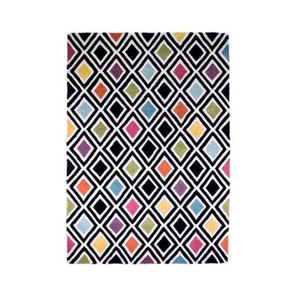 Vlněný koberec Flair Rugs Diamond, 80 x 150 cm