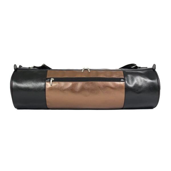 Czarno-brązowa torba na jogę Yogaly Glanc