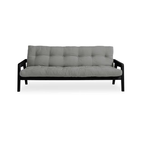Variabilní pohovka Karup Design Grab Black/Grey