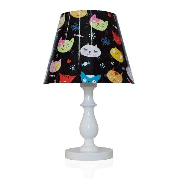 Stolní lampa Barevné kočky