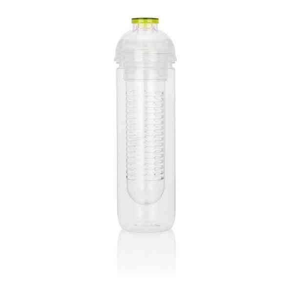 Zelená lahev se sítkem XDDesign Trita