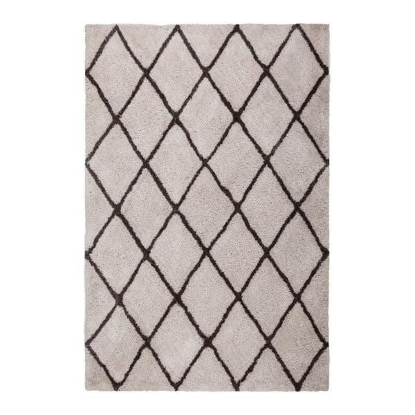 Šedý ručně vyráběný koberec Obsession My Feel Me Fee Bone, 80 x 150 cm