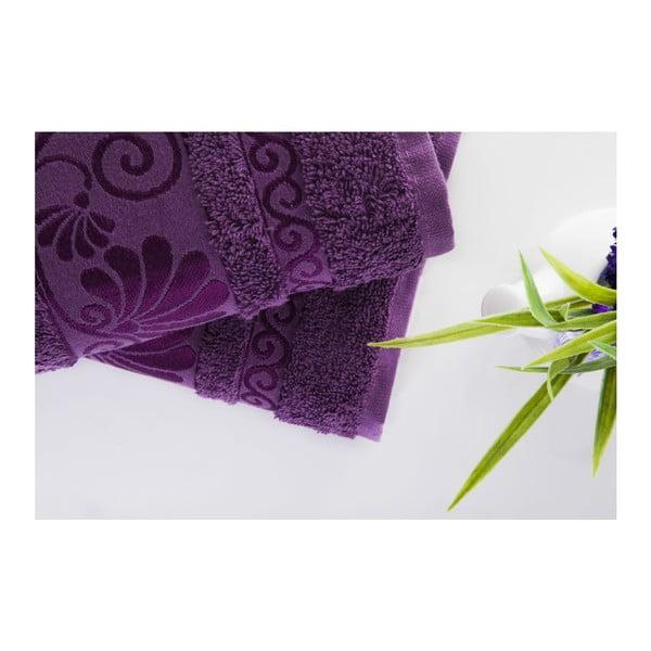 Sada 2ks ručníků Carmen Purple, 50x90 cm