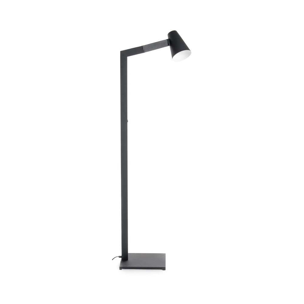 Černá stojací lampa Design Twist Fahy