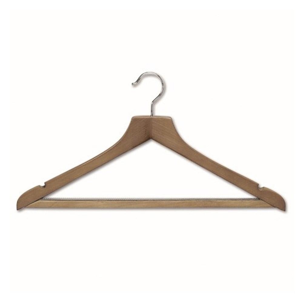 Ramínko se zářezy s kalhotovou tyčí z bukového dřeva Cosatto Hanger