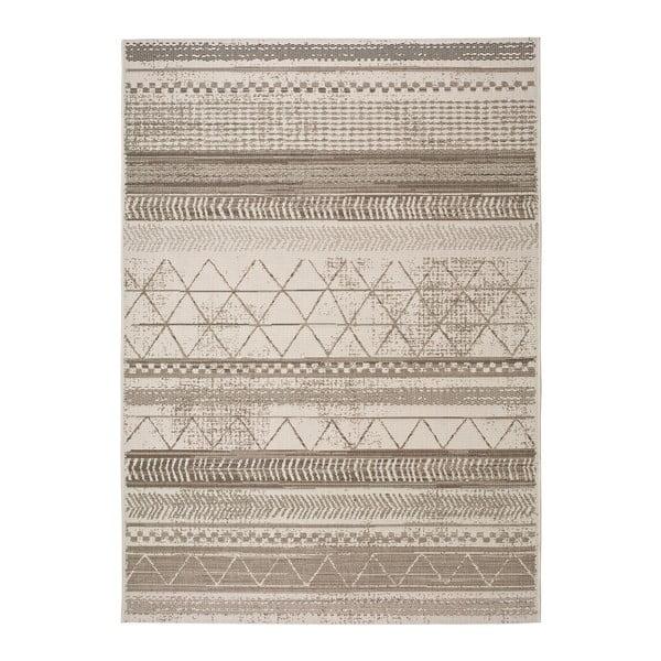 Šedobéžový venkovní koberec Universal Libra Grey Puzzo, 80 x 150 cm