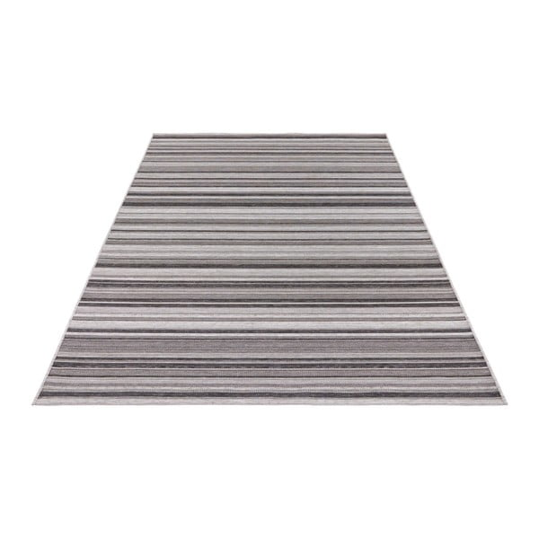 Šedý koberec vhodný i na ven Elle Decor Secret Calais, 80 x 150 cm