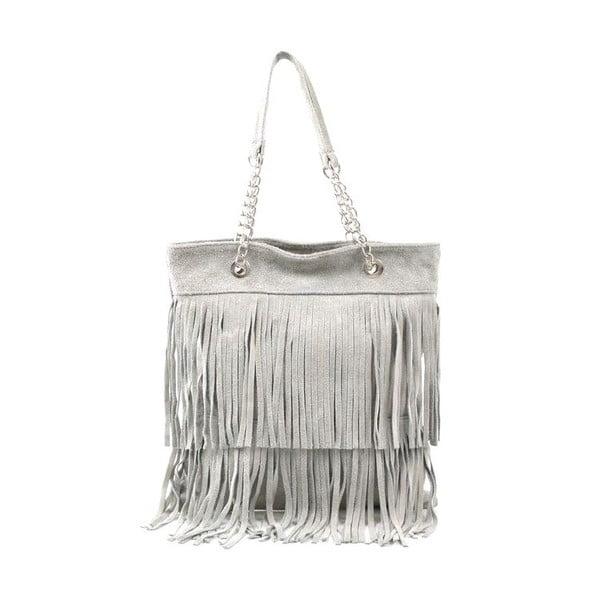 Kožená kabelka Marianne, šedá