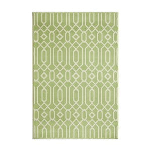 Zelený koberec Nourison Baja Talara, 229 x 160 cm
