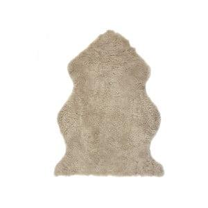 Covor din piele de oaie Auskin Faol, 90 x 60 cm, maro deschis
