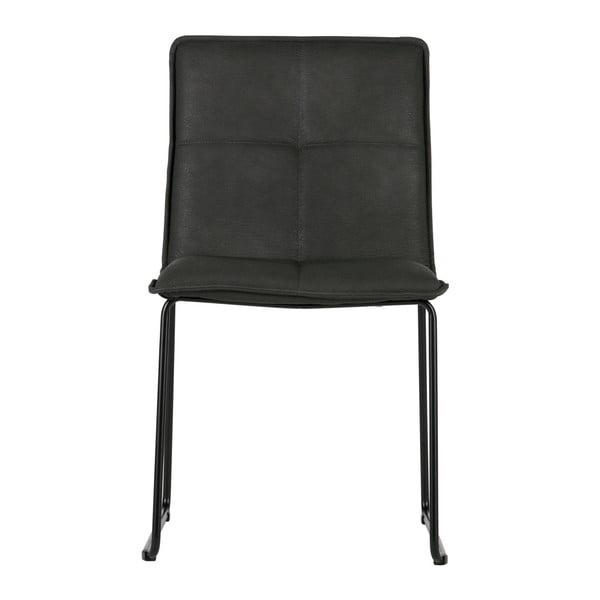 Sada 2 černých židlí De Eekhoorn Evan
