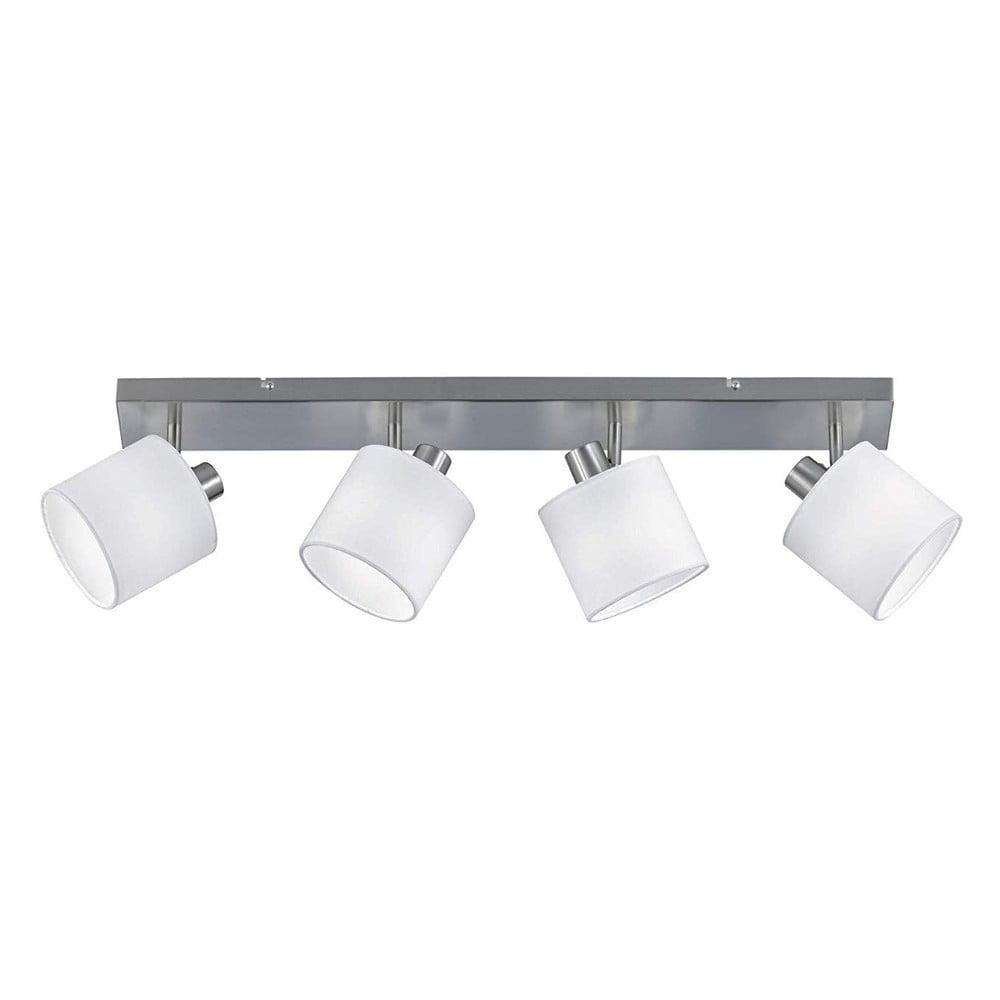 Bílé stropní svítidlo pro 4 žárovky Trio Spot Tommy, šířka 70 cm