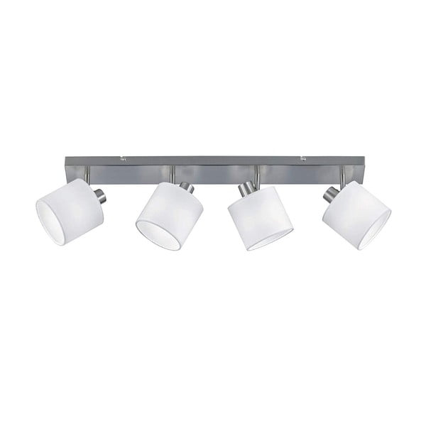 Spot Tommy fehér mennyezeti lámpa 4 izzóval, szélesség 70 cm - Trio