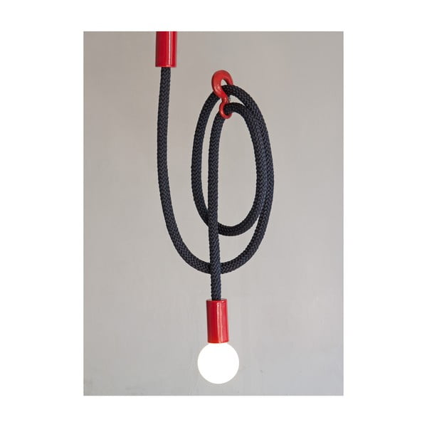 Světlo Hook Line Light, navy + red