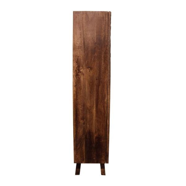 Dvoudveřová šatní skříň z mangového dřeva Støraa James
