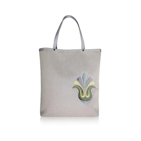 Shopper bag Rio, světle šedá