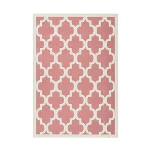 Růžový koberec Kayoom Maroc Criss, 160 x 230 cm