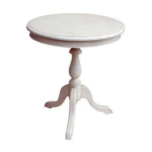 Dřevěný kulatý stůl Vintage, 60x65x60 cm