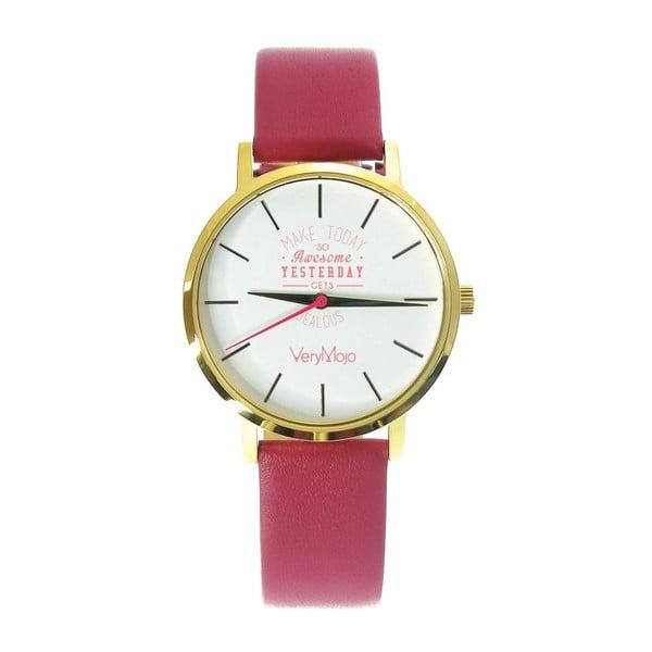 Růžové hodinky VeryMojo Make Today
