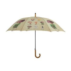 Deštník Esschert Design Houby, Ø 120 cm
