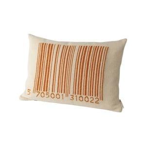 Polštář 40x60 cm, oranžový
