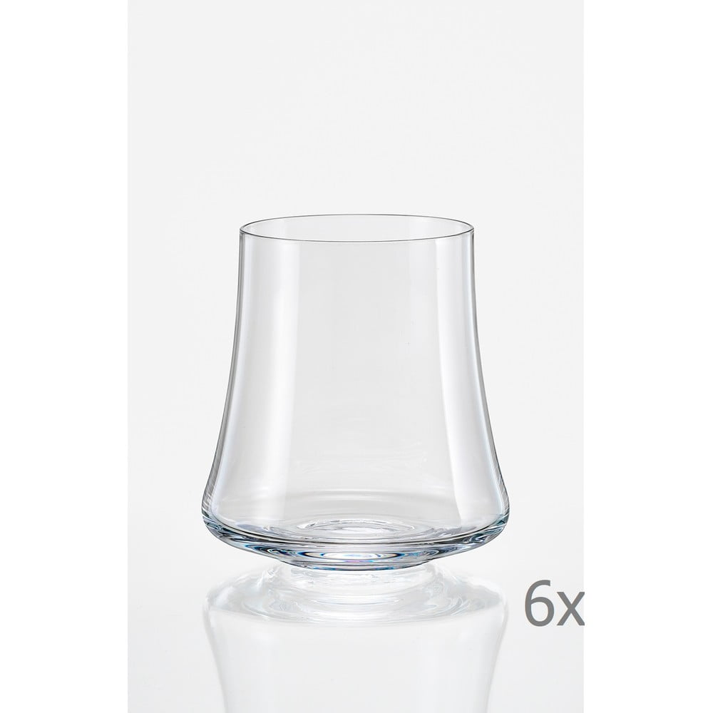 Sada 6 sklenic na whisky Crystalex Xtra, 350 ml