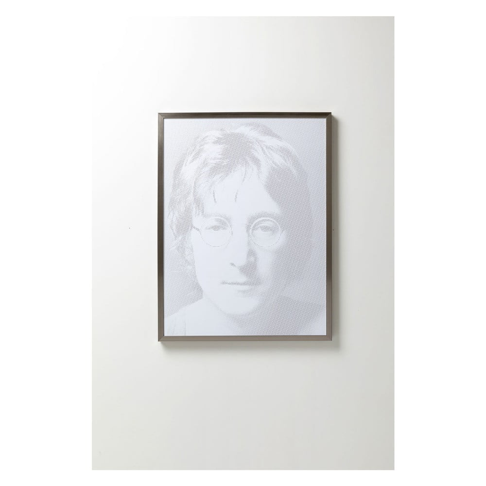Obraz v rámu Kare Design Idol Pixel John, 104 x 79 cm