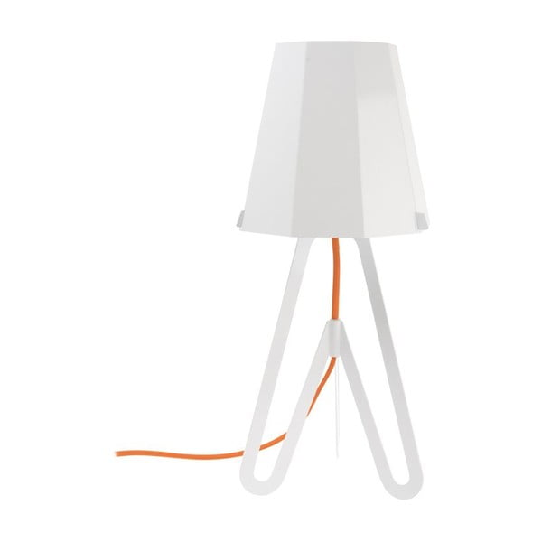 Stolní lampa Flow, white/red