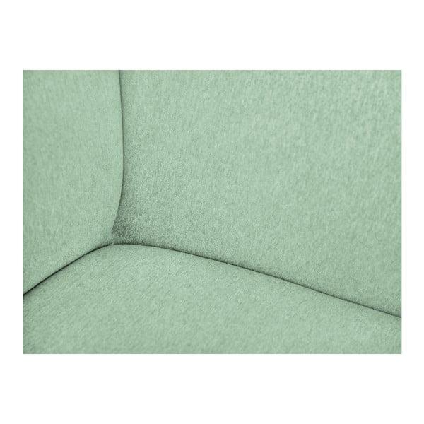 Mentolově zelená modulová dvoumístná pohovka Norrsken Ollo