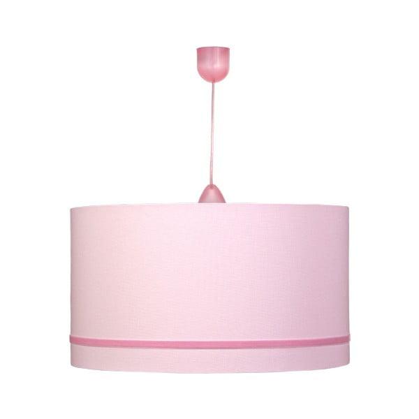 Závěsné světlo Gold Inside Pink Velvet