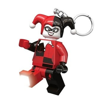 Breloc cu lanternă LEGO DC Super Heroes Harley Quinn