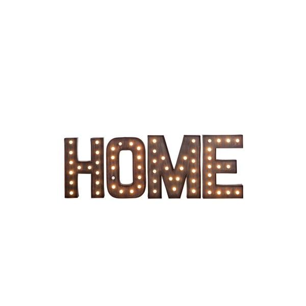 Svítící nápis Home