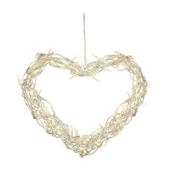 Svítící LED dekorace Curly Heart