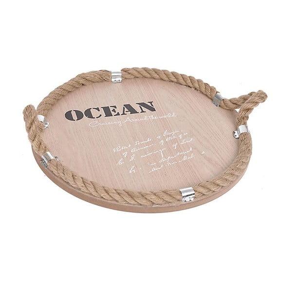 Dřevěný tác Ocean, přírodní